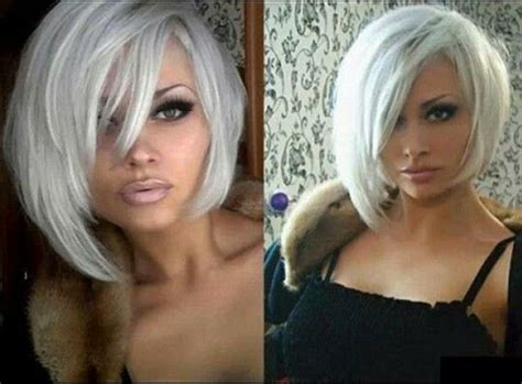platinum blonde bob images very pretty short platinum blonde bob hair ideas pinterest