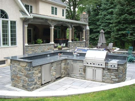 backyard stone stone veneer outdoor barbecue heritage mica pinnacle stone products