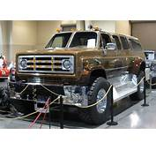 Monster Suburban  Spotted At The 2010 Autorama