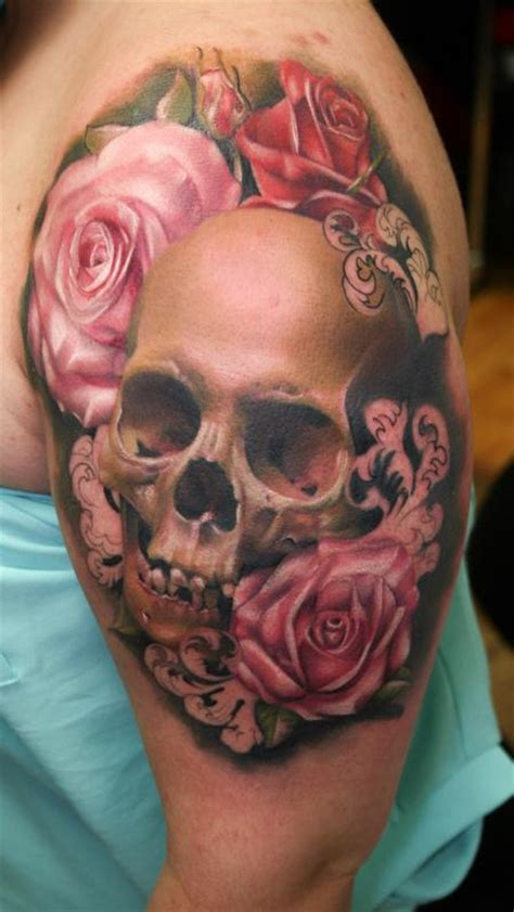 realistic skull tattoo gallery for gt realistic and skull