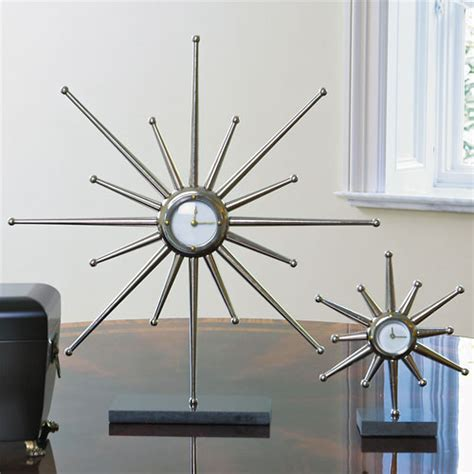 Desk Clocks Modern Desk Clock Modern Desk And Mantel Clocks By High Fashion Home
