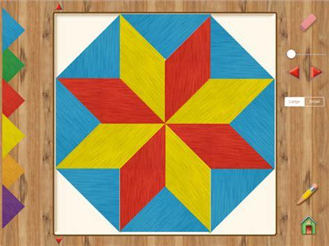 pattern blocks math playground hands on math parquetry blocks ipad app