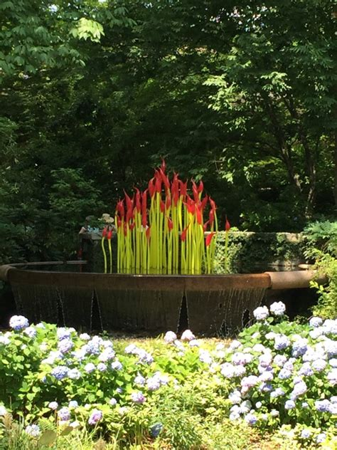 Chihuly In The Garden At The Atlanta Botanical Garden Chihuly Atlanta Botanical Gardens