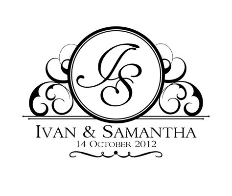 Custom Wedding Logo Design Wedding Logo Design Template