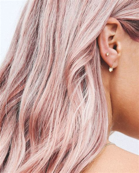 rose gold hair color 25 best ideas about rose hair on pinterest rose gold