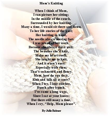 poems about knitting heartfelt quotes for funerals quotesgram
