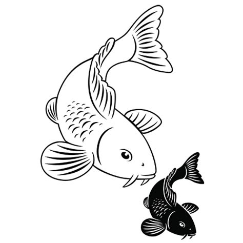 koi fish tattoo designs black and white tattoos with their meanings