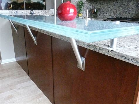 raised glass countertop for area and bars cbd glass