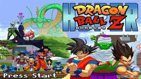 fan made dragon ball z game hyper dragon ball z videogame fan made con logiche da