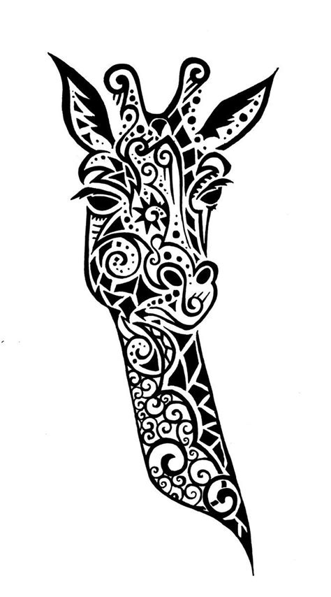 giraffe mandala coloring pages pin by deja cairns on giraffes pinterest search