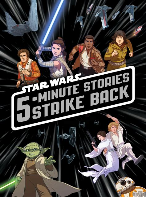 5 minute wars stories strike back disney books