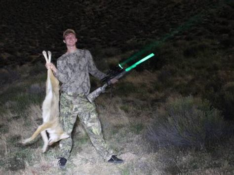 best light to use night coyote hunting wicked hunting lights