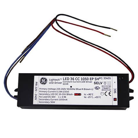 Driver Led 25 Watt 5 x ge 12v 25w dimmable led driver ge 97742 ebay
