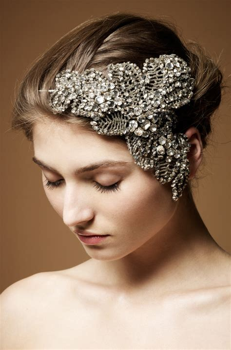 Wedding Hair Accessories Packham by Packham Bridal Headdress Collection The Magazine