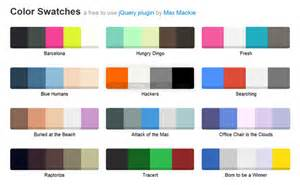 color swatch jquery swatches turns div into a sweet color swatch web