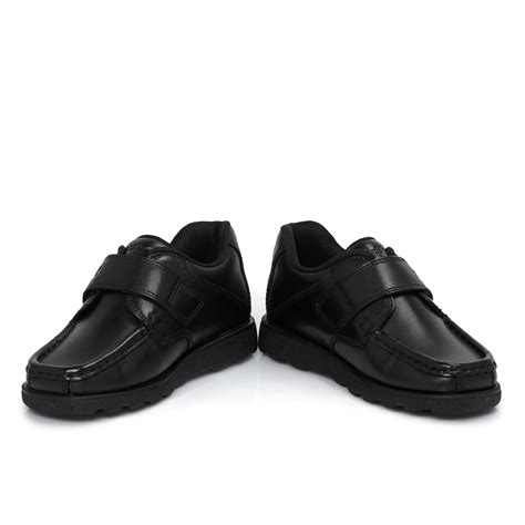 black shoes for kid kickers infants fragma black leather shoes 26