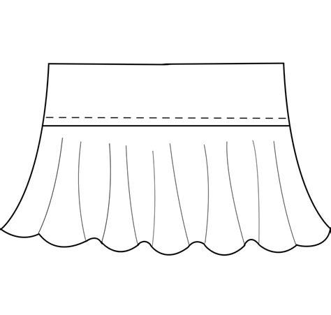 latex ruffles tutorial mjtrends custom clothing pattern
