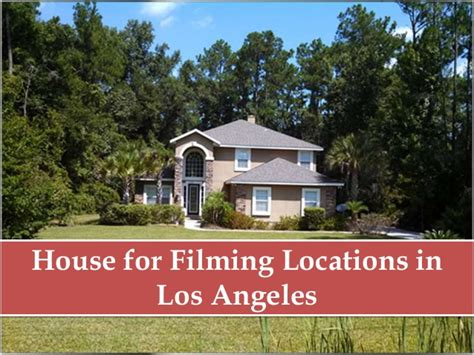 rent house los angeles where to rent house for filming in los angeles
