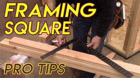 the essential woodworker pdf framing square pro tips
