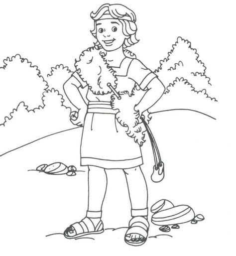 coloring page david becomes king david coloring pages david bible printables king david