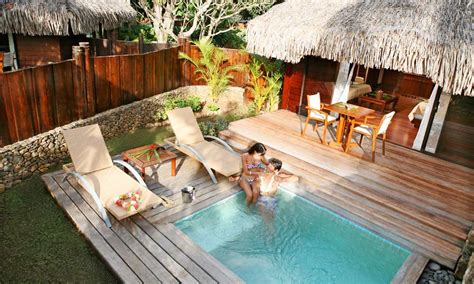 Backyard Resorts Pools And Spas Manava Resort And Spa Formerly Moorea Pearl Resort