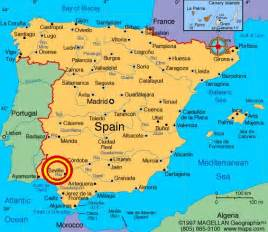 Seville Spain Map by Seville Spain Travel Guide Travel Featured