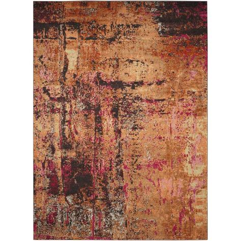 12 X 9 Area Rug Shop Safavieh Monaco Skild Indoor Distressed Area Rug Common 9 X 12 Actual 9 Ft W X 12 Ft L