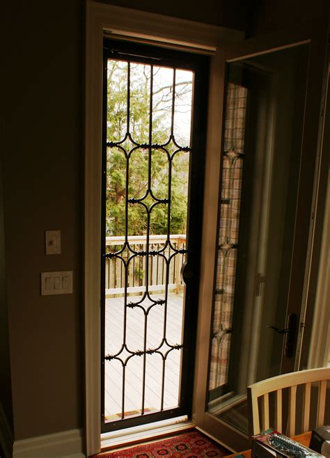 Iron Security Doors by Wrought Iron Security Doors