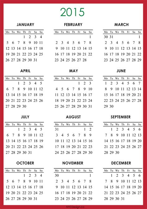 template of 2015 calendar 2015 december calendars to copy calendar template 2016