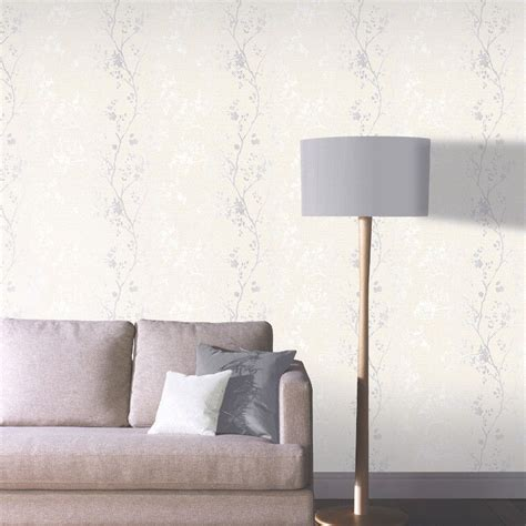 glitter wallpaper lounge arthouse orabella tree glitter wallpaper in pearl 673402