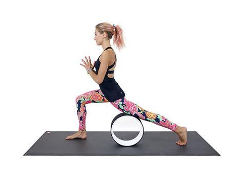 yoga wheel tutorial here are 5 ways to use a yoga wheel photo tutorial
