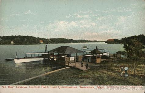 lincoln park lake boat landing lincoln park lake quinsigamond worcester