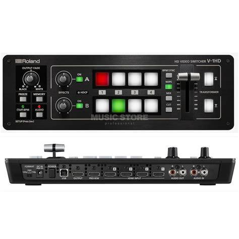 roland v 1hd 4 kanal hd switcher