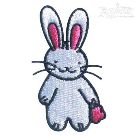 embroidery design rabbit little bunny rabbit embroidery design