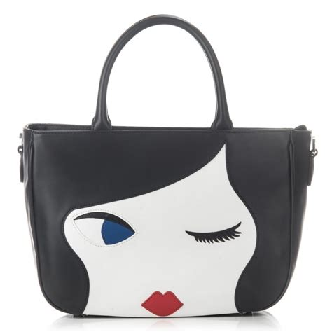 Lulu Guinness This Is The Purse by Lulu Guinness Doll Smooth Leather Wanda Bag Lulu