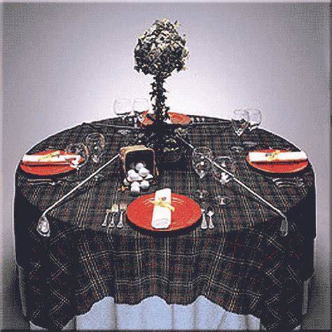 Scottish Decor by Casual Table Designs For Your Decor Or Event Rentals