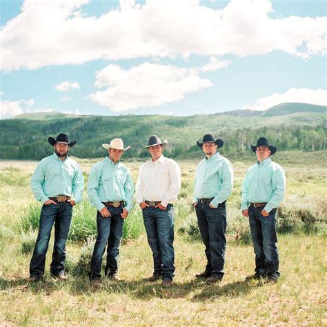Wedding Western Attire by 25 Best Ideas About Cowboy Groomsmen On Camo