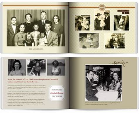 Tips From Start To Finish For Making A Family Heritage Book Shutterfly Has Two Heritage Themes Shutterfly Family Tree Template