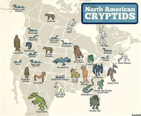 an anthology of mythical creatures visual ly monstrous compendium of cryptids and creatures