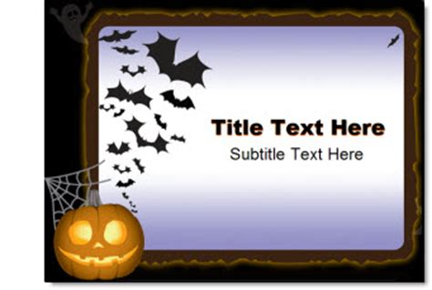 halloween backgrounds for powerpoint halloween powerpoint free halloween printable templates festival collections