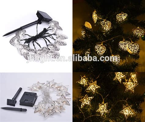 led solar christmas light with flowers novelty fairy