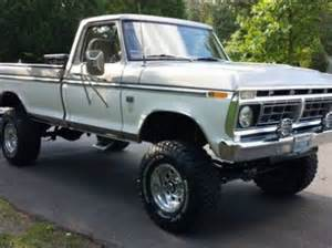 1976 Ford F250 For Sale Purchase Used 1976 Ford F 250 4x4 Highboy In Renton