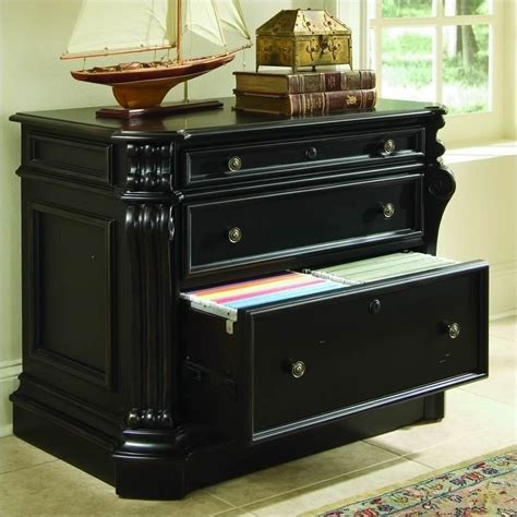 hooker furniture file cabinet hooker furniture telluride 2 drawer black lateral file
