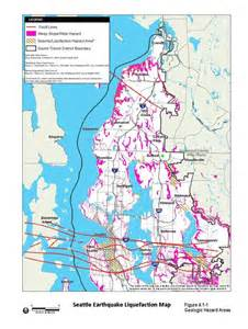 seattle earthquake map cascadia hazards institute