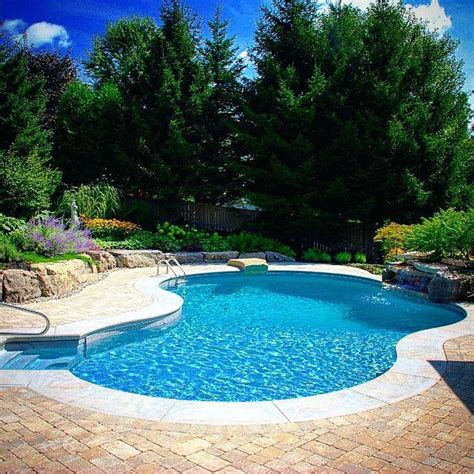 nice backyards with pool bullyfreeworld com