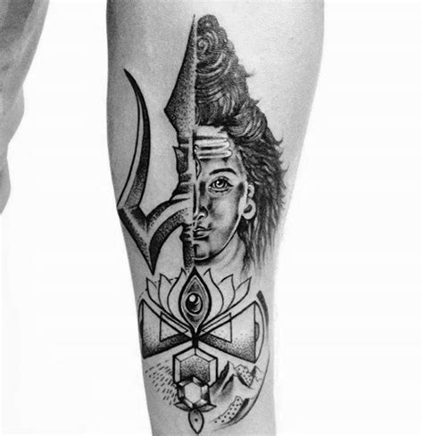 small hindu tattoos 60 shiva designs for hinduism ink ideas