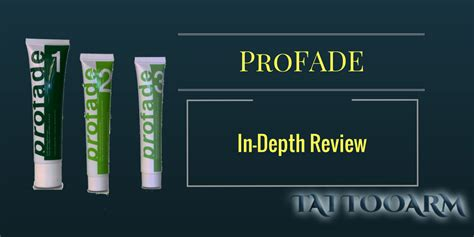 tattoo vanish reviews profade review progressive fading does it work