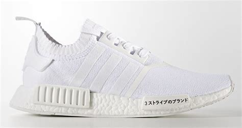 adidas nmd r1 pk quot white quot gets updated with japanese symbols kicks