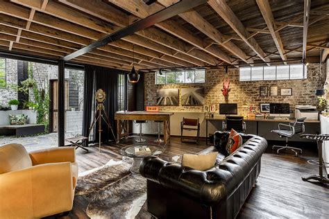 warehouse home industrial inspiration 16 inspirational industrial home office designs that will let you work in comfort