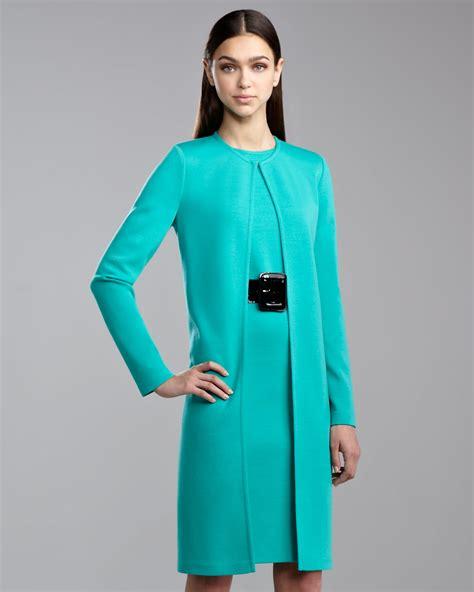 St Dress Jaket lyst st knit topper jacket jade in green